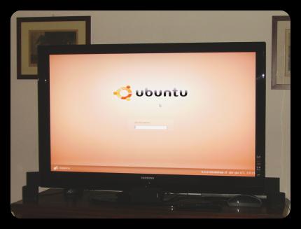 Samsung da 52 pollici con Ubuntu